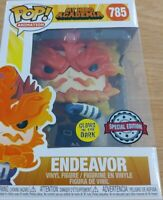 Funko Pop Animation: My Hero Academia - Endeavor Glows in the Dark Pop Vinyl