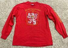 New listing Vintage 80s Slovakia Czechoslovakia Czech Longsleeve shirt Large