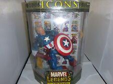 Marvel Legends Icons 12 inch Figure Unmasked Captain America ToyBiz
