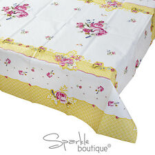 Vintage Style Floral TABLE COVER/CLOTH-Tea Party-TRULY SCRUMPTIOUS RANGE IN SHOP