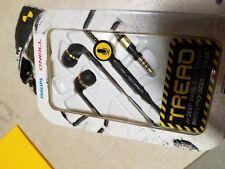Lot of 2 Philips SHO2205BK/28 O'Neill The Tread In-Ear Headset - Black New