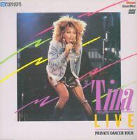 Tina Turner Live Private Dancer Tour Pioneer Artists Music Laserdisc