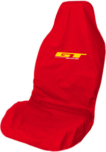 Mountain Bike GT Logo Waterproof Red Premium Front Car Seat Cover Protector
