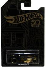 2018 Hot Wheels 50th Anniversary Black and Gold #1 Bone Shaker