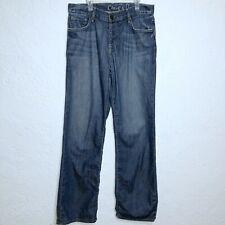 "Chip Pepper Medium Blue Distressed Jeans Big Pickle Mens SIZE 33 Inseam 34"""