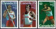 Canada 1975 Sc664-66 Mi597-99 mnh 21st Olympic Games