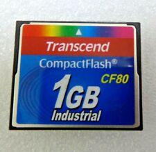 TRANSCEND 1GB Industrial CF80 CompackFlash CARD, TS1GCF80