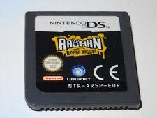 RAYMAN ET LES LAPINS CRETINS - Jeu NINTENDO DS LITE DSI 3DS XL (loose)