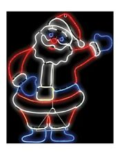 Light Glo Santa Sign