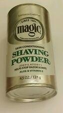 MAGIC BY SOFTSHEEN CARSON SKIN CONDITIONING SHAVING POWDER DEPILATORY 4.5 OZ.