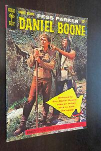 DANIEL BOONE #1 (Gold Key 1964) -- Fess Parker -- F/VF