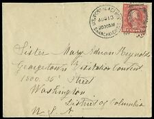 463 Used on Cover with U.S. Postal Agency Shanghai Cancel
