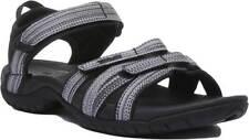 Teva Tirra Womens Nubuck Leather Sandal In Black Multi Size UK 3 - 8