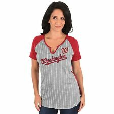 ($32) Washington Nationals mlb Jersey T-Shirt Adult WOMENS/LADIES (m-medium)