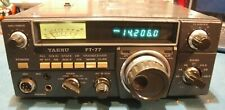 YAESU FT-77 Ham Radio With Mic & Power Lead