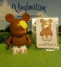 "Disney Vinylmation 3"" Park Set 1 Holiday Thanksgiving Turkey Butterball w/ Card"