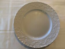 Wedgwood Ralph Lauren CLAIRE White Dinner Plate 10""