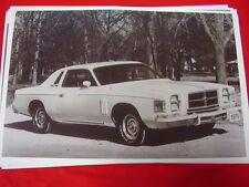 1979 CHRYSLER 300  COUPE   11 X 17  PHOTO  PICTURE