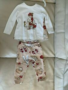 Monnalisa Outfit Age 12 Months Girls