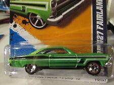 Hot Wheels '66 Ford 427 Fairlane Muscle Mania Green