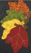 Autumn Leaves Placemats and napkins quilt pattern by Annie's Keepsakes