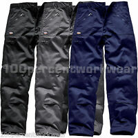 Dickies Redhawk WD814 Combat Action Mens Work Trousers Pants Knee Pad Pockets