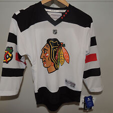 NHL REEBOK Chicago Blackhawks Hockey Jersey NEW Youth L/XL