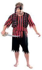Polyester Complete Outfit Pirate Costumes Unbranded for Men
