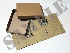 Reproduction WW2 Medal Box and Label.