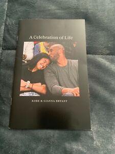 KOBE BRYANT GIANNA LIMITED EDITION CELEBRATION OF LIFE MEMORIAL BOOK 2/24/20