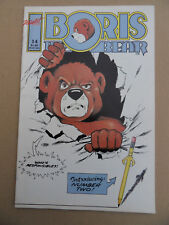 Boris The Bear 14 . Nicotat 1987 . VF - Minus