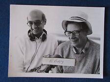 "Original Press Photo - 8.5""x6.5"" - Max Bygraves & DJ Tony Myatt - 1980's"