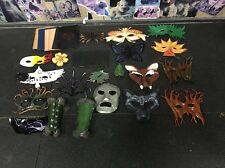 Handmade Leather Masquerade Mask Lot
