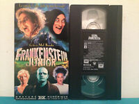Frankenstein junior  VHS tape & sleeve FRENCH