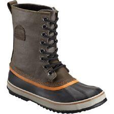 NEW SOREL MEN'S 1964 PREMIUM T CVS BOOTS WATERPROOF Peat Moss/Bright Size 8.5