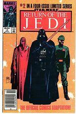 1983 STAR WARS Return Of The Jedi Vol. 1 #2 Marvel Comic