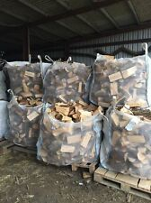 Logs/firewood for sale. Cubic metre bags of softwood free delivery to local area