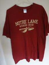 "Vintage Florida State Seminoles ""Notre Lame Whining Irish"" T-Shirt Men 2XL Rival"