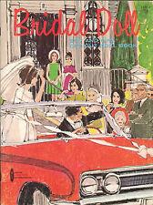 Vintage 1960S Bridal Doll Paper Dolls ~Pretty 12 Pg Laser Repro~Orig. Size Uncut