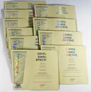 Lot of 10 Huda Beauty 3ml Huda Beauty Wishful Yo Glow Enzyme Scrub samples