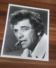 Peter Falk *Inspektor Columbo**, original signed Photo 20x25 cm (8x10)