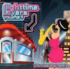 Nighttime Lovers 9 (Funk Deluxe/Michael Lovesmith/Xavier/Sunrize) CD -Neu & OVP-