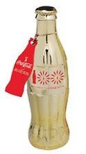 COCA COLA COKE GOLD 100TH ANNIVERSARY OF CONTOUR BOTTLE SECOND EDITION  NEW!!
