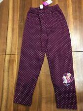 Disney Frozen Anna Winter Fleece Lined Trousers 4Y *BNWT*