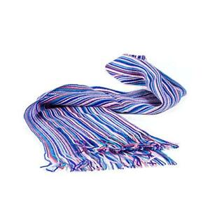 Men's and Women's Winter Striped Long Scarf - soft - fairly traded from Ecuador