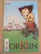Origin II #1 Marvel 2014 Series Skottie Young Variant Wolverine 9.6 Near Mint+