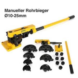 Rohrbieger Rohrbiegegerät Rohrbiegemaschine Manuell Handrohrbieger Ø10 - Ø25mm