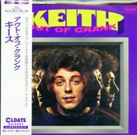 KEITH-OUT OF CRANK-JAPAN MINI LP CD BONUS TRACK C94