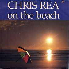 """7"""" Chris Rea – On The Beach // French 1986"""