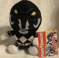 New Black Power Rangers Mastodon Plush New with Tag, Hasbro, Authentic, Licensed